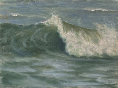 Gayle Madeira, 'Breaking Wave in Paradise Beach', 2020