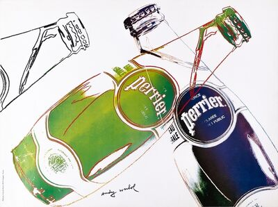 Andy Warhol, 'SOURCE PERRIER EAU NATURELLE ', 1983