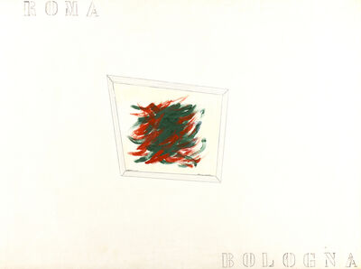 Franco Angeli, 'Rome-Bologna', 60's
