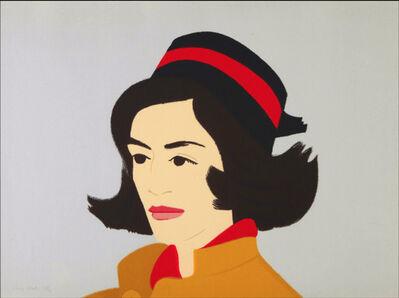Alex Katz, 'Ada in Hat', 1990