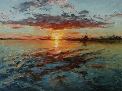 Lyudmila Agrich, 'Tranquil Sunset', 2018