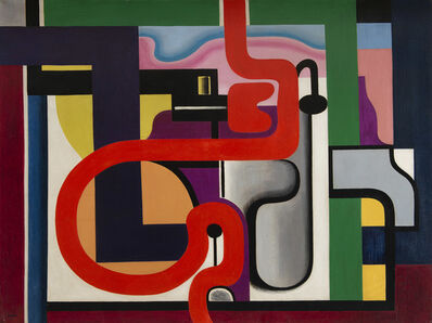 Auguste Herbin, 'Composition', 1927