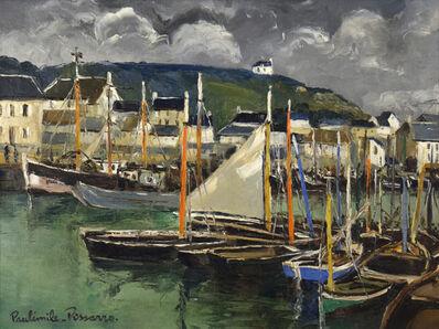 Paul-Emile Pissarro, 'Port en Bessin, Calvados', 20th century