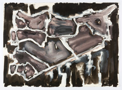 Fiona Hall, 'Cage (Syria map variations)', 2017