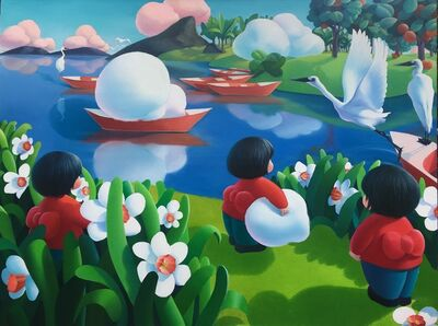 Ma Dan 马丹, 'Glimpse of a Small World-Try to hold a floating cloud', 2019