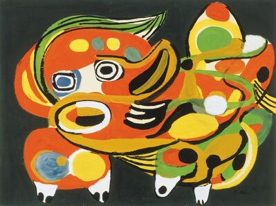 Karel Appel, 'The Cat', 1951