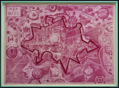 Grayson Perry, 'A Map of Days (Red)', 2013