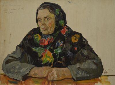 Aleksey Ivanovich Borodin, 'Milkmaid', 1972