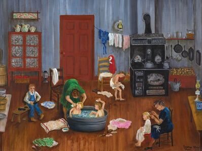 Queena Stovall, 'Saturday Night Bath', 1951