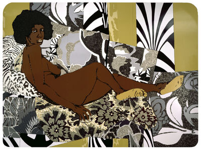 Mickalene Thomas, 'A Little Taste Outside of Love', 2007