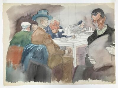 William Sharp, 'The Cafeteria', 1945
