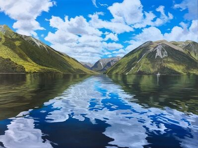 Phil Hanson, 'Cloudscape Reflections - Nelson Lakes', 2019
