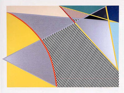 Roy Lichtenstein, 'Imperfect 223', 1988