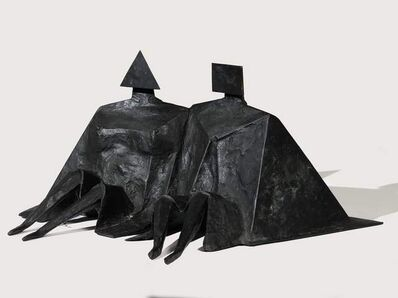 Lynn Chadwick, 'Sitting Couple II', 1980