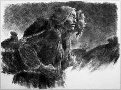 Kang Yobae, 'Carrying Food', 1991