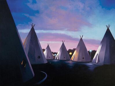 Mary Anne Erickson, 'Sunset at the Wigwam Motel, San Bernardino, California', 2014