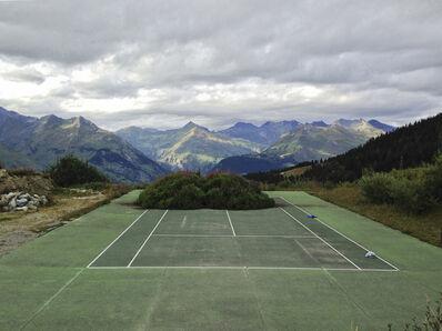 Marianne Turck, 'Tennis court', 2017