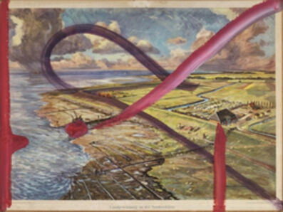Julian Schnabel, 'Langdewinnung and Nordseekuste', 2016