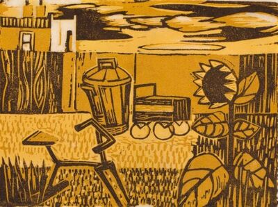 Peter Clarke, 'Backyard', 1981