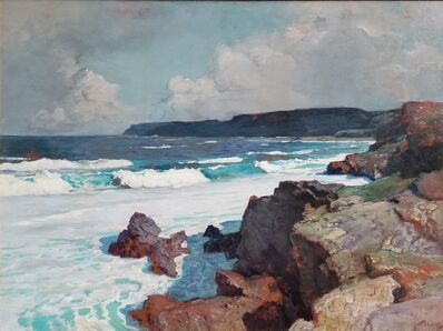 Frederick Judd Waugh, 'The Cove-Otter Point, Maine', ca. 1925