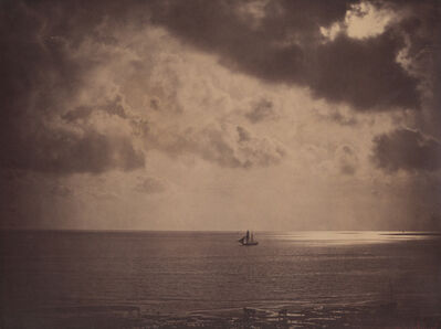 Gustave Le Gray, 'Brig Upon the Water', 1856