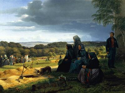Jørgen Sonne, 'En ligfærd', 1859