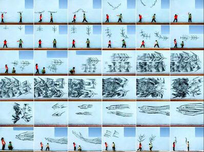 Robin Rhode, 'Paper Planes', 2009