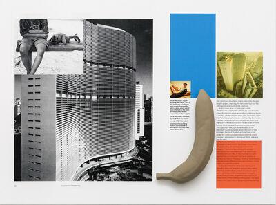 Sergio Vega, 'Interventions on a book (Copan-Duchamp with banana)', 2016
