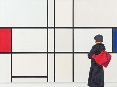 Tim Eitel, 'Rot und Blau', 2002