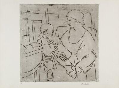 Pablo Picasso, 'Olga et Paulo: la Soupe (Maternité)', 1922