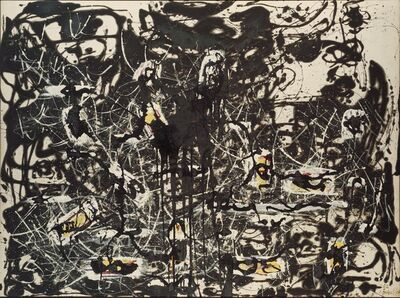 Jackson Pollock, 'Yellow Islands', 1952