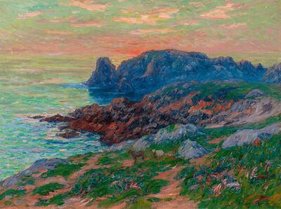 Henry Moret, 'L'Ile de Ouessant, Le Soir', 1908