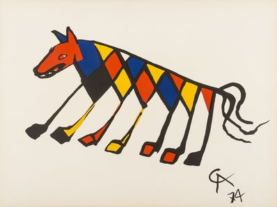 Alexander Calder, 'Convection, Beastie (two works)', 1974