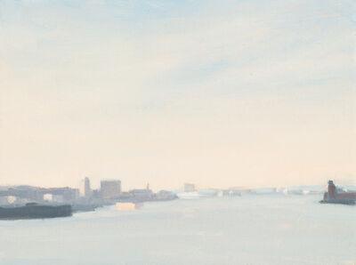 Diana Horowitz, 'Bayonne, Black Barges', 2018