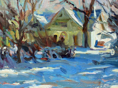 Quang Ho, 'A Denver Winter', Unknown