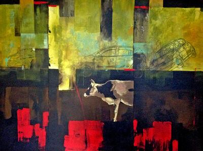 Ritu Sinha, 'Red Line', 2014