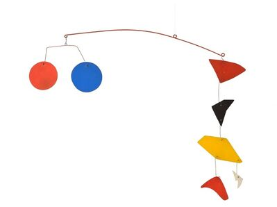 Alexander Calder, ' Enseigne de Lunettes  ', 1976