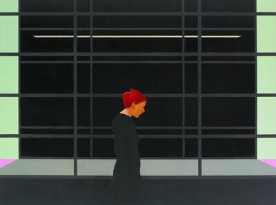 Tim Eitel, 'GfZK schwarz', 2001