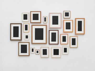 Allan McCollum, 'Surrogates No III (set of 20)', 1982-83