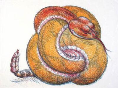 Luis Jimenez, 'Ball Rattlesnake', 2019
