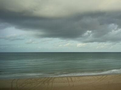 Donald Weber, 'Omaha Beach - October 20, 2014, 7:27pm. 12ºC, 87% RELH, Wind SW, 6 Knots. VIS: Good, Broken Clouds', 2014
