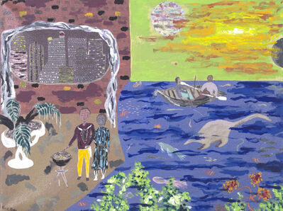 Reginald K Gee, 'The Good Life Featuring The Fortunate Few', 1998
