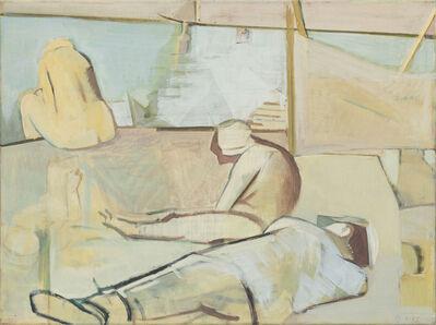 Dietrich Burger, 'Figuren an der Küste', 1993