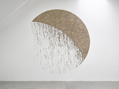 Richard Long, 'Gravity Crescent', 2018