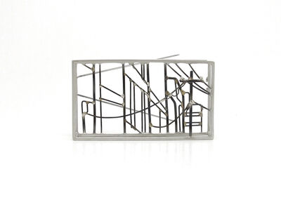 Caitie Sellers, 'Downtown Landscape Brooch'