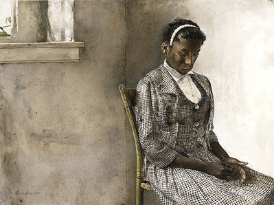 Andrew Wyeth, 'Day of the Fair', 1963