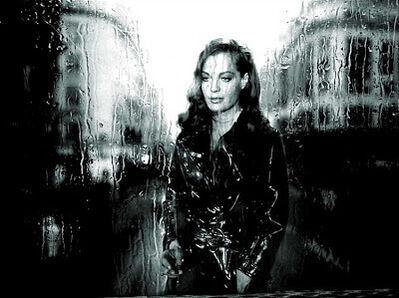 Axel Crieger, 'Rain in Paris, Romy Schneider', 2017