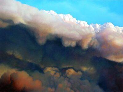 Joice M. Hall, 'Cumulus Congestus #4'