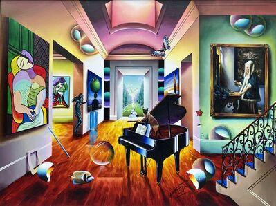 Ferjo, 'Vermeer's Picasso Room', 2006