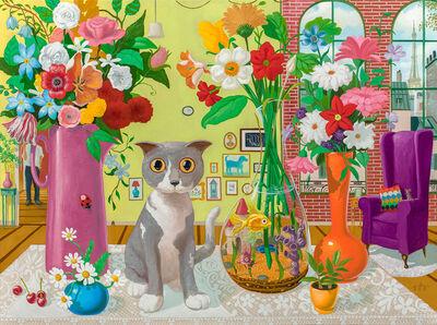 """Geoffrey Gersten, '""""Still Life in the Florists Hosue""""', 2018"""